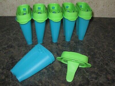 TUPPERWARE ~ LOLLI TUPS ~ popsicle mold / freezer pop maker ~ NEW Freezer Pop Mold