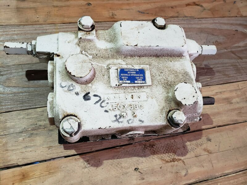NOS Reidville Hydraulics Linear Control Valve 8379908 E2022 CAT-193 482000670560