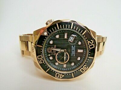 Invicta Grand Diver Men's Watch Automatic Rose Gold 47mm 13699