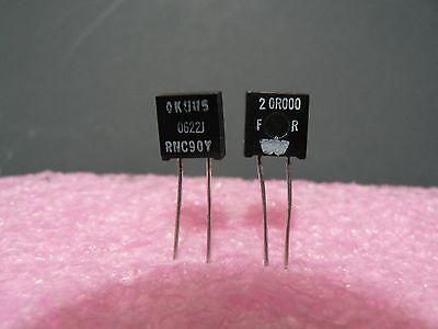 4 Pcs Vishay Dale Rnc90y Series Metal Foil Resistor Rnc90y20r000fr Us Seller