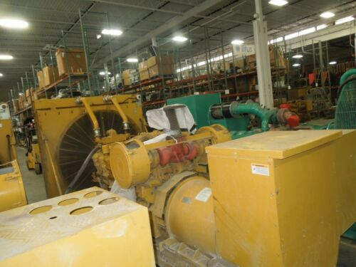 Caterpillar 3512 Generator 1250KW 1562KVA 480Y/277V AC 1878A 497.5Hours 24Z06872