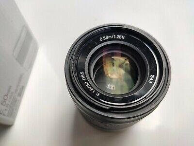 Sony SEL 50 mm F/1.8 E OSS for Sony - Black