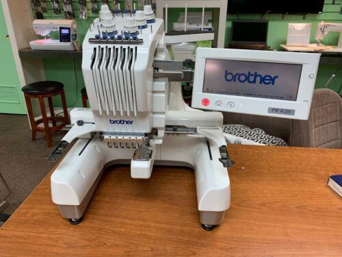 Brother Embroidery Machine  Entrepreneur PR-620 6 Needle Recent Service