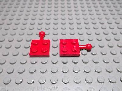 Lego 2x Platte 2x2 Kupplung 3731 rot NEU ern141 LEGO Bausteine & Bauzubehör Baukästen & Konstruktion