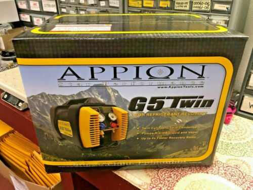 Appion G5 TWIN Twin Cylinder Recovery Unit, In Stock, Same Day FAST Shipping,NEW
