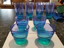 Tupperware Illusions Tumblers / Cups / Glasses Meadow Springs Mandurah Area Preview