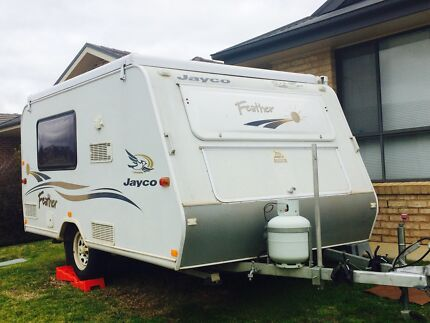 2006 Jayco Feather Pop-Top Caravan Bourkelands Wagga Wagga City Preview