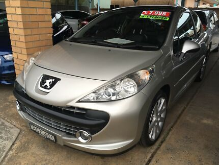 2008 PEUGEOT 207 GT TURBO HATCH LOW 80,000KMS 1 YEAR WARRANTY Kirrawee Sutherland Area Preview