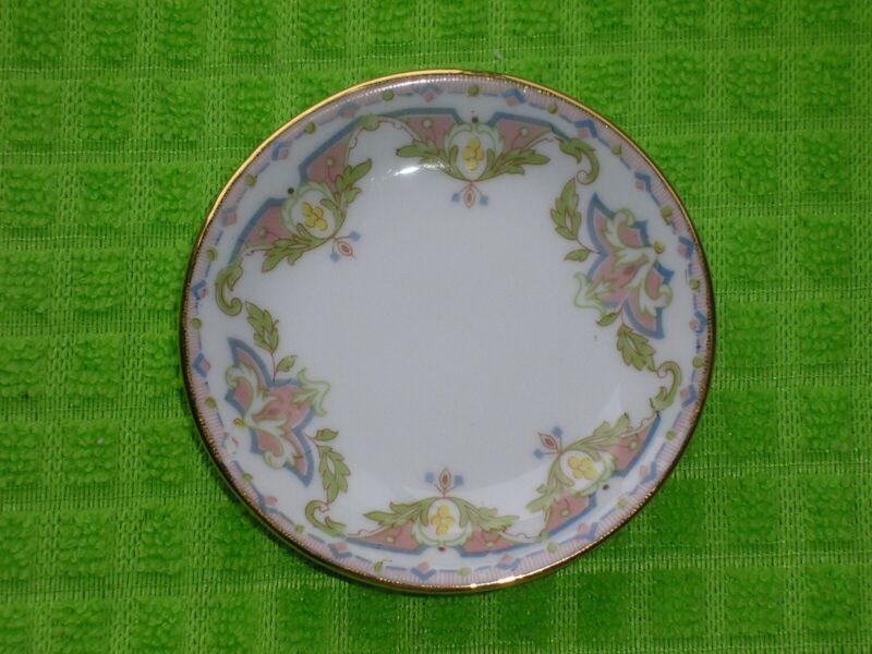 Antique Butter Pat - Wm Guerin & Co Limoges France