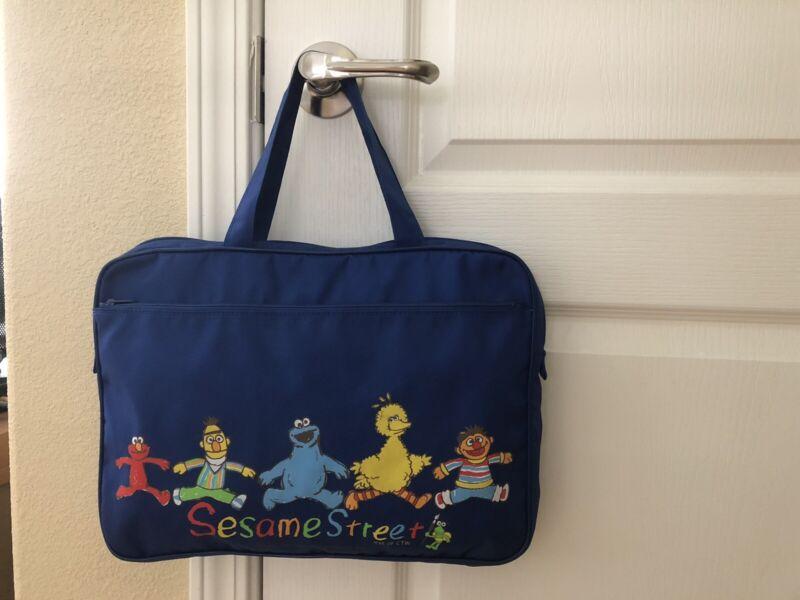 Sesame Street Characters Zippered Tote Hand Bag*Jim Henson Productions, Inc.*