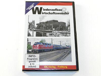 Wiederaufbau & Wirtschaftswunder - Eisenbahn DVD Neu ()