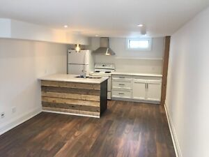 Basement Apartment - $1350 all inclusive - July 1st