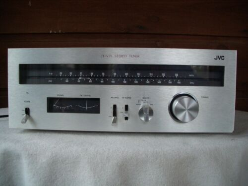 Vintage JVC AM/FM Stereo Tuner JT-V71 with Manual