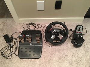 New Logitech G27 PS3 Racing Wheel Set