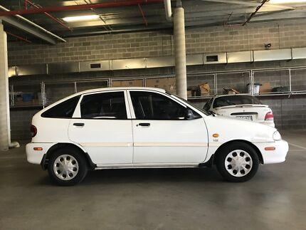 1998 Ford Festiva White For Sale