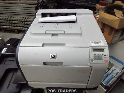 HP CP2025N A4 Colour Laser Printer Drucker CB494A USB LAN 35737 PRINTS - LINES
