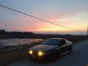 1993 Nissan 240sx Silvia front end Rb20det