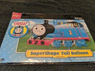 THOMAS THE TANK TRAIN MYLAR PARTY BALLOON SUPERSHAPE (MULTI, 1)30×20. - Thomas Balloons