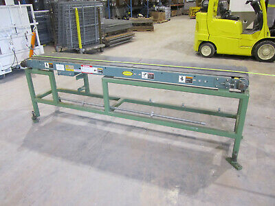 8 5 Hytrol Conveyor Vision 14 W Belt No Motor Or Chain Frame 17 W Used