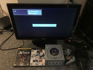 Nintendo GameCube and Samsung TV For Sale
