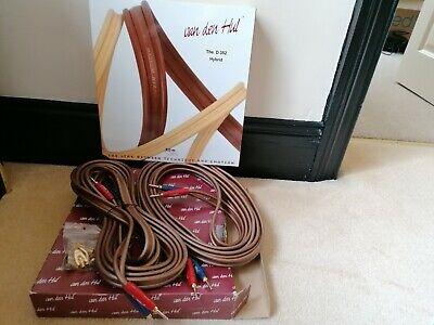 Van den Hul D352 Hybrid speaker cables - 5 metre pair
