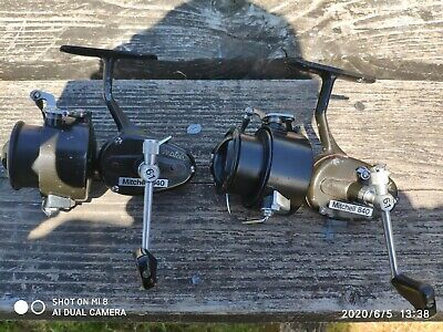 One Pair of Rare Mitchell 840 Match Vintage Fishing Reels In Good Used Condition