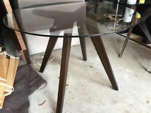 Glass Table from Condo Showroom NEVER USED