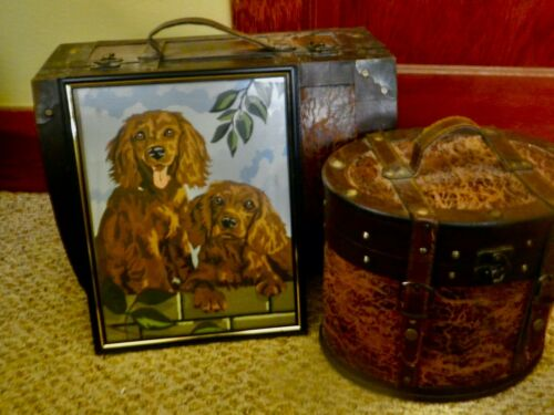 VTG IRISH SETTER PUPPIES-PAINT BY NUMBER