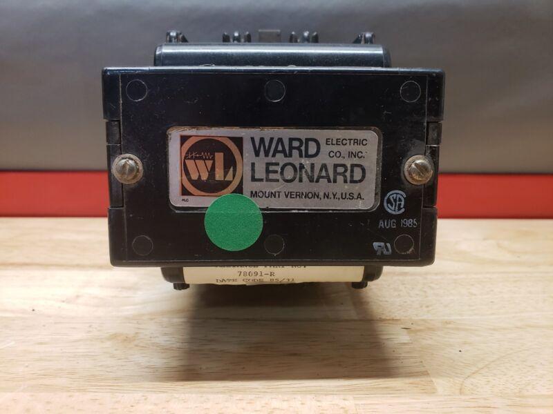 WARD LEONARD MOTOR STARTER CONTACTOR , 78091-R ☆NEW SURPLUS FREE SHIPPING☆