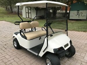 LAST CHANCE FOR MINT EZGO GAS GOLF CART  $2100 FIRM