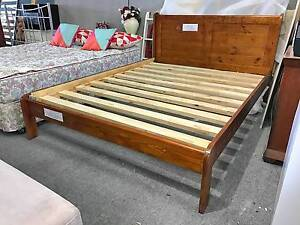 TODAY DELIVERY BRAND NEW SOLID WOODEN QUEEN BED CLEARANCE SALE!!! Cloverdale Belmont Area Preview