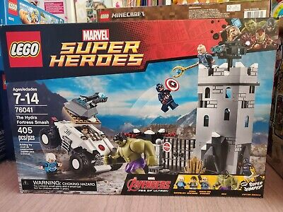 Lego Marvel Super Heroes The Hydra Fortress Smash Model 76041 Brand New 405