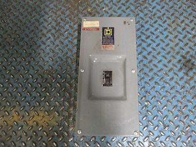 Square D Enclosed Circuit Breaker Fal34030 30a 600v Used