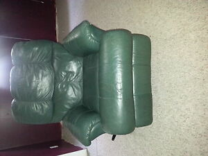 leather couch rocker recliner