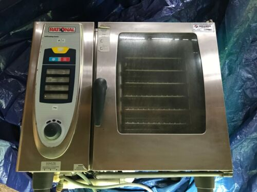 Rational SCC 62 Self Cooking Center Stainless Steel Combi Oven Stove