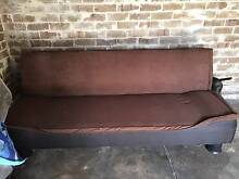 Sofa Bed Chocolate Ashbury Canterbury Area Preview