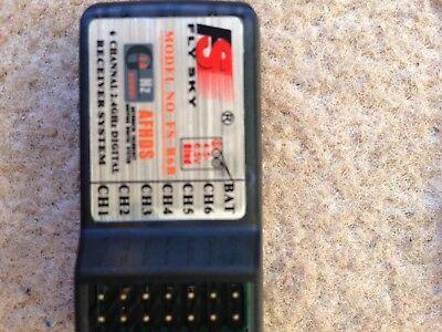 Mini FlySky FS-R6B 2.4Ghz 6CH RC Receiver Transmitter Remote Control Parts FR