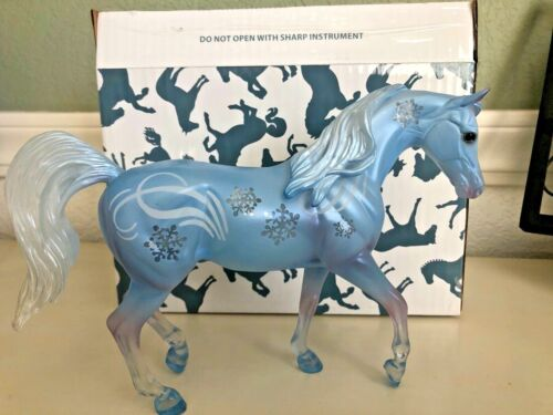 """Breyer 2020 712416 LIMITED EDITION Winter Decorator, """"Christoff"""" Sold Out"""