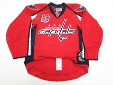 WASHINGTON CAPITALS AUTHENTIC HOME 40th ANNIVERSARY REEBOK EDGE 2.0 7287 JERSEY
