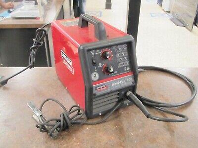 Lincoln Electric Weld-pak 100 Mig Welder W Gun Clap Spool Extra Tips 115v