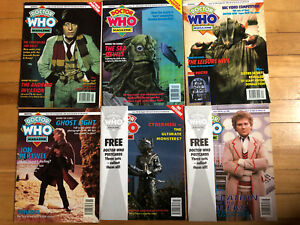 Doctor Who Magazines