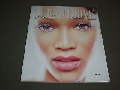 2002 May Ocean Drive Magazine   Tyra Banks   Sp 4213