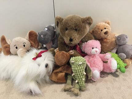 Soft toys -very good condition