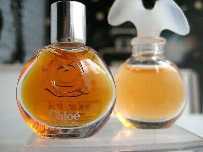🎁Lot *PARFUM pure perfume New vintage Chloe parfum Karl Lagerfeld mini