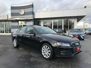 2012 Audi A4 2.0T Quattro AWD Only 40, 000KM