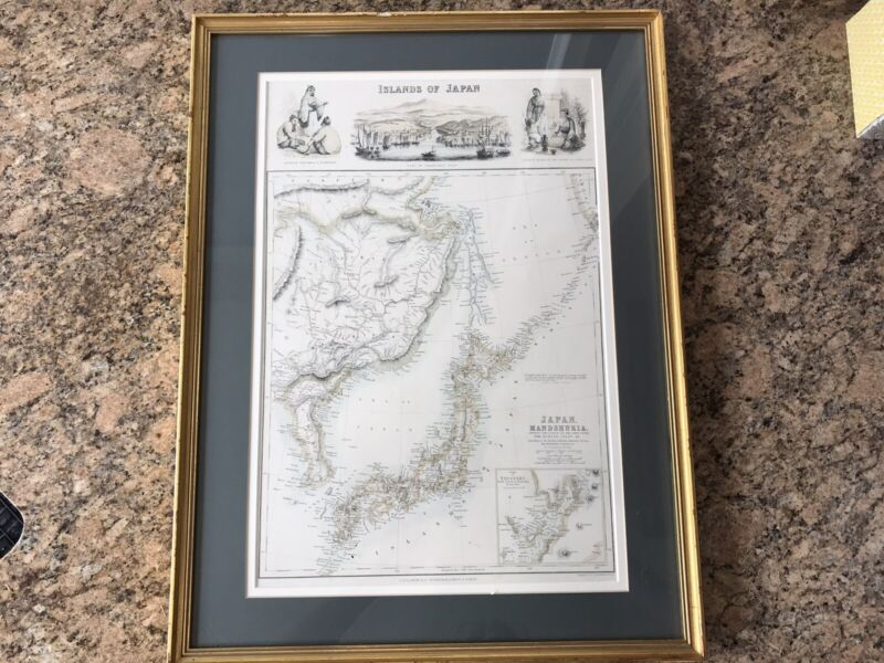 Archibald Fullerton & Co. Antique Map Of The Islands of Japan