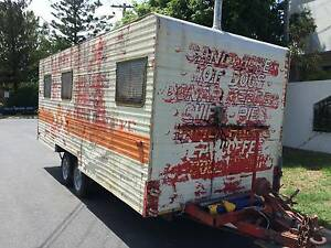 CARAVAN,CAR TRAILER,FOOD VAN,COULD BE ANYTHING,HEAVY  PLANTRAILER Runaway Bay Gold Coast North Preview