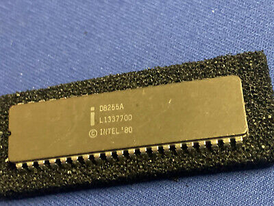 D8255a Intel 8255a 40-pin Cerdip Vintage Collectible Last One