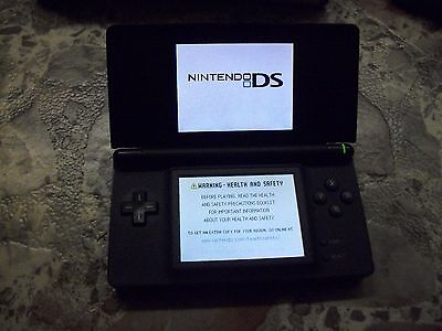 Nintendo DS LITEDS LITE BLACK System GAMES MARIO PARTY THEME PARK SPORE CREATURE