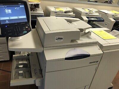 Xerox Workcentre 7775 Laser Color Printer Scanner Copier 13 X 19 399k Finisher